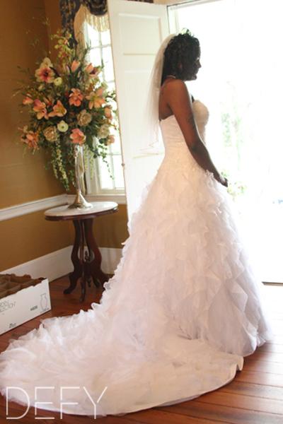 Bridal Portrait Look Away
