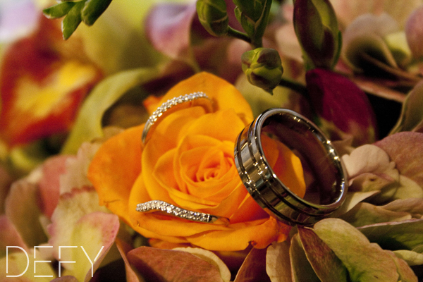 Rings in flowers