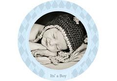 Baby Boy Wall Cling
