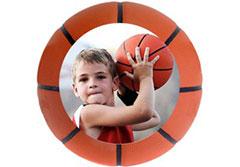 Basketball Wall Cling