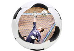 Soccer Wall Cling