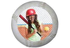 Softball Wall Cling