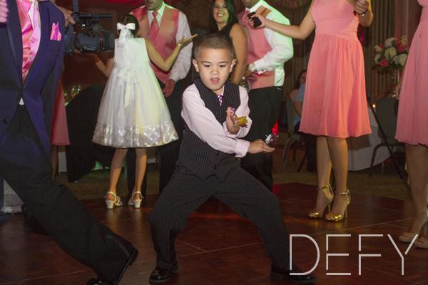 ring bearer dancing