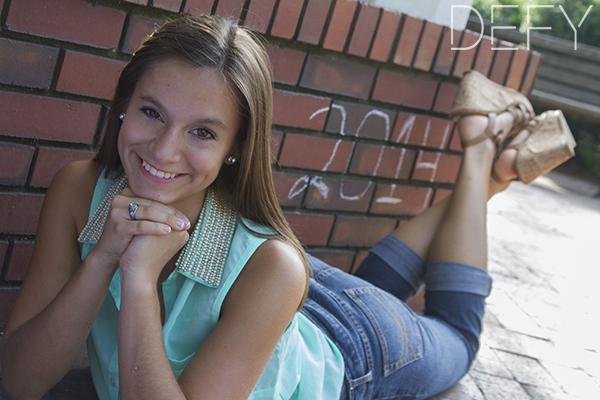 senior girl 2014