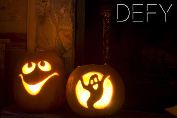 pumpkins glow