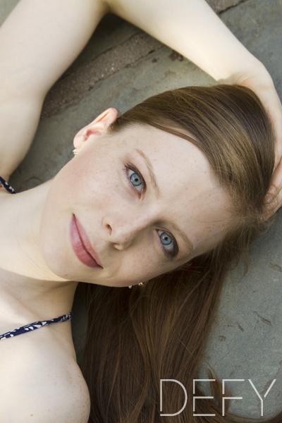 close up teenager girl