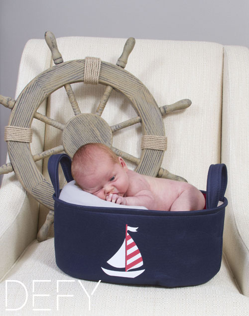 sailor baby boat